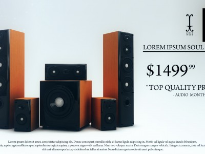 Speaker Set Promo
