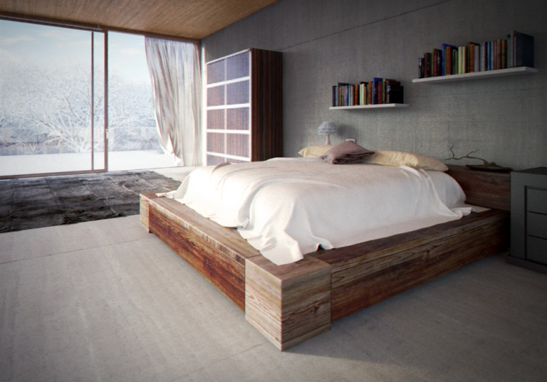 Glass House – Bedroom