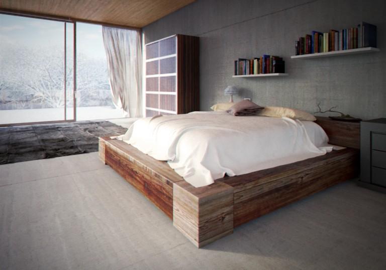 Glass House – Bedroom