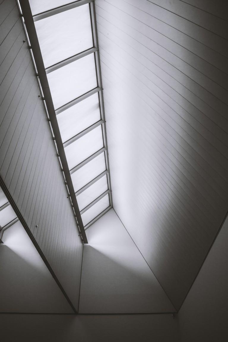 Windows at the Kroller Muller museum